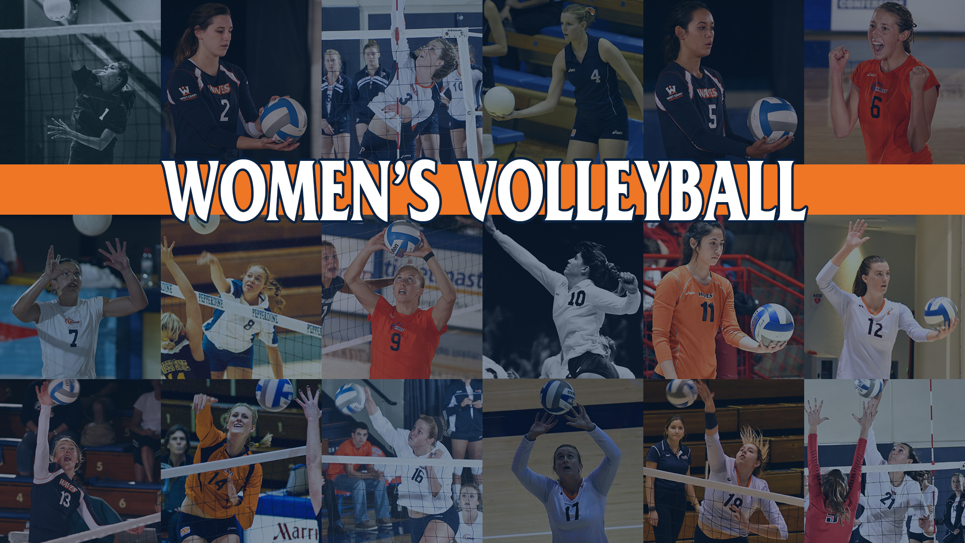 The Greatest Waves At Every Number Women S Indoor Volleyball Pepperdine University Athletics
